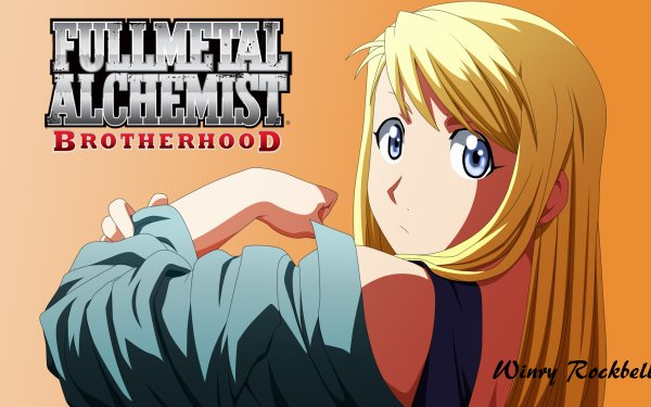 Anime FullMetal Alchemist Fullmetal Alchemist Winry Rockbell HD Wallpaper | Background Image