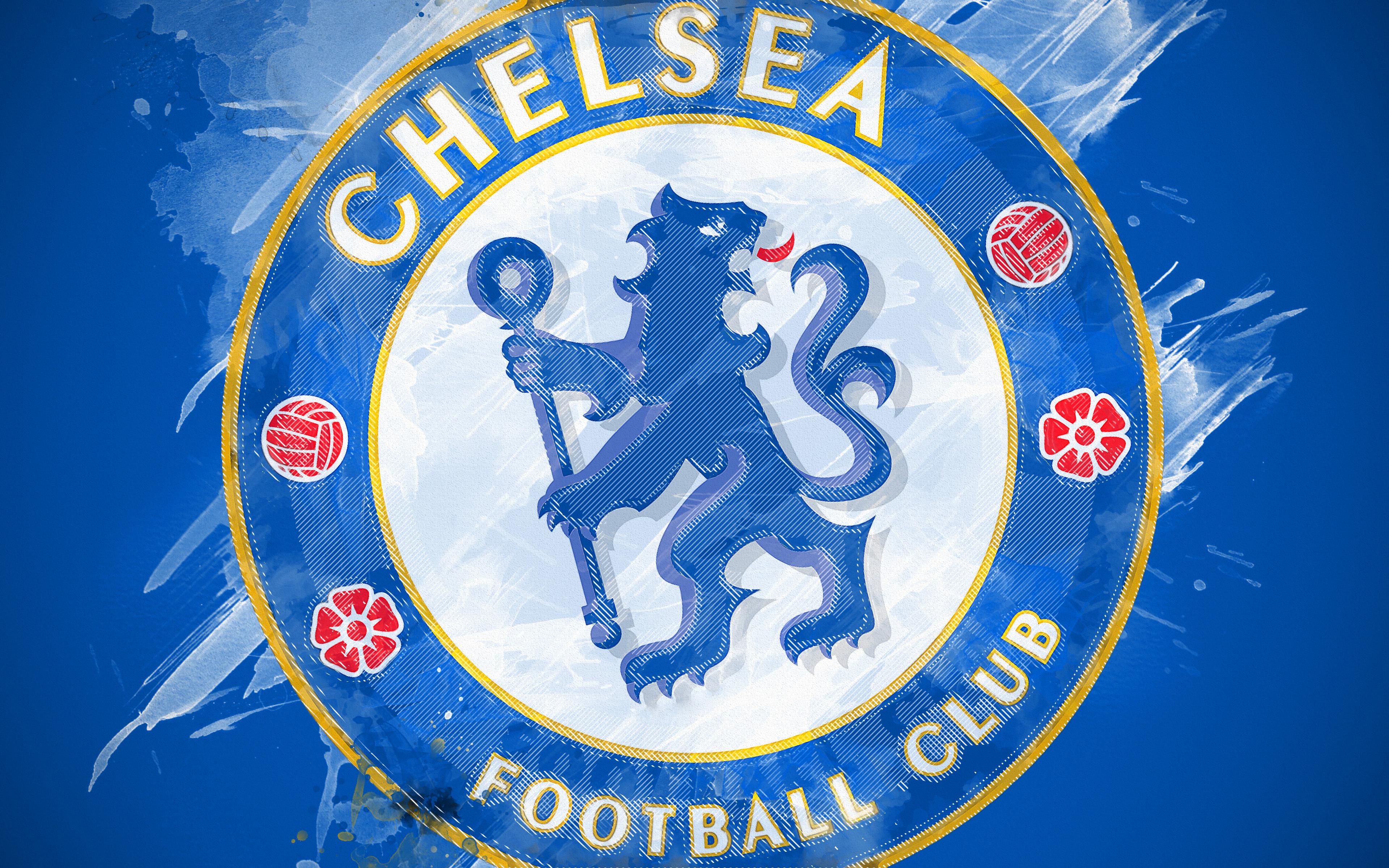 Chelsea Logo 4k Ultra Hd Wallpaper Background Image