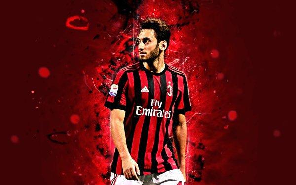 Sports Hakan Çalhanoğlu Soccer Player Turkish A.C. Milan HD Wallpaper   Background Image