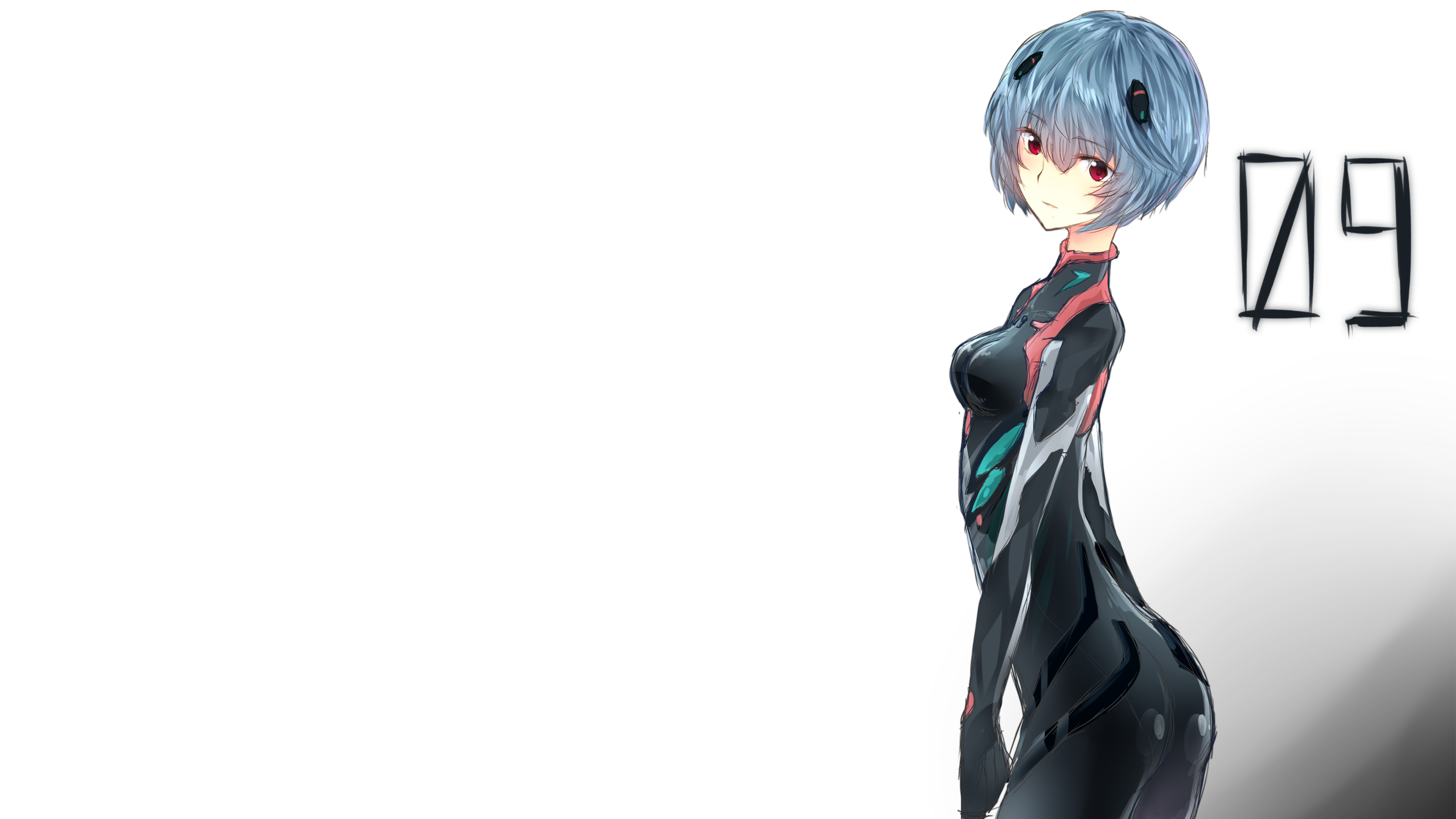 Neon Genesis Evangelion Rei Ayanami 4k Ultra Fondo De