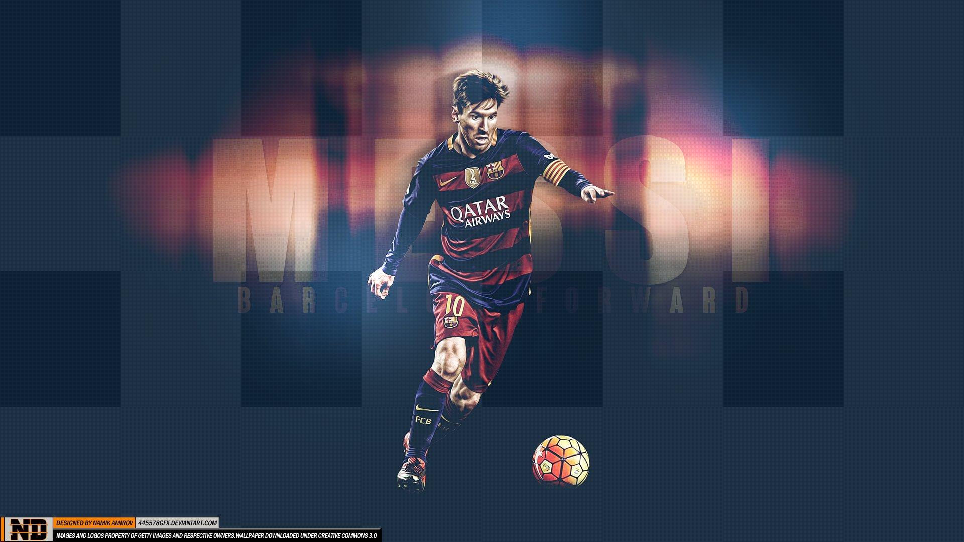 Lionel Messi Barcelona Hd Wallpaper Hintergrund