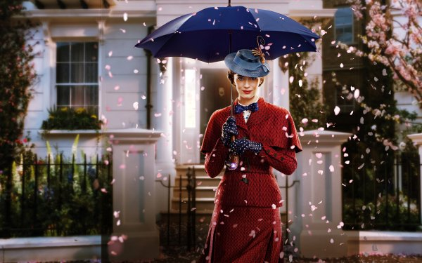 Movie Mary Poppins Returns Emily Blunt HD Wallpaper | Background Image