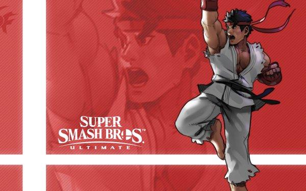 Video Game Super Smash Bros. Ultimate Ryu HD Wallpaper | Background Image