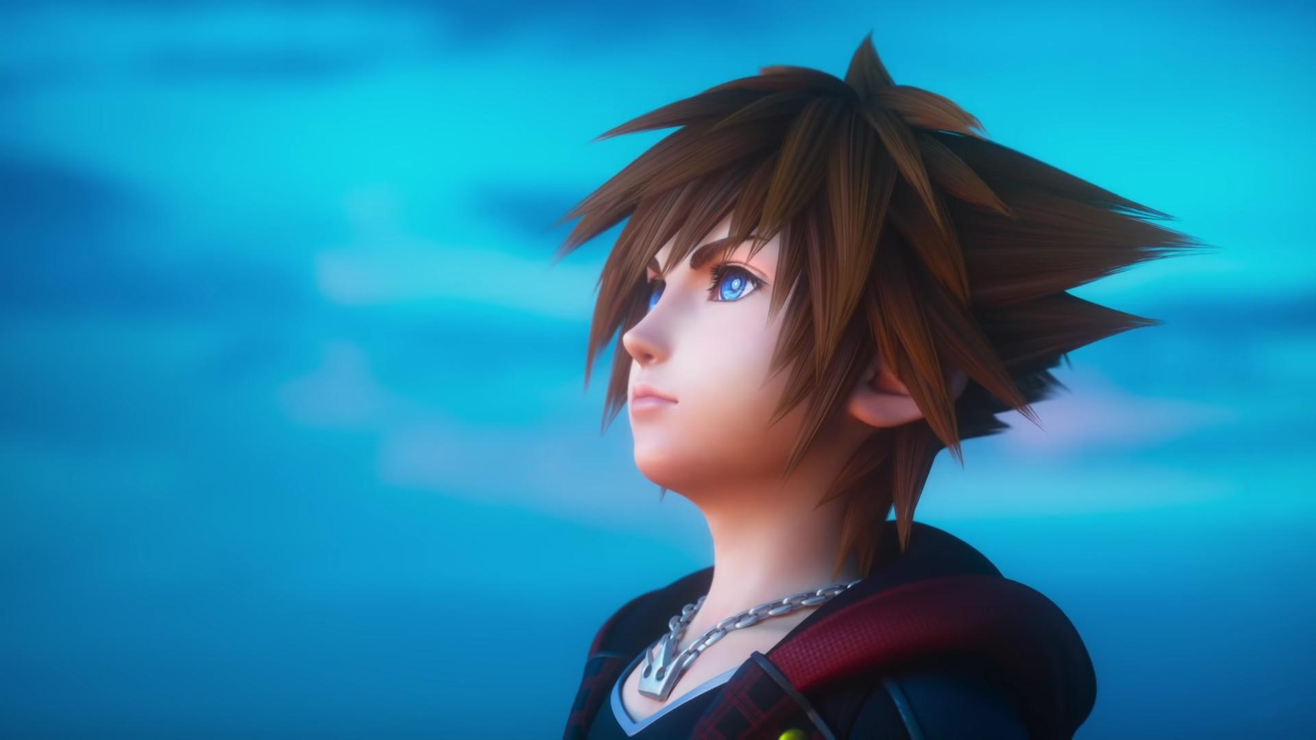 Sora Kingdom Hearts Iii Opening Hd Wallpaper Background Image