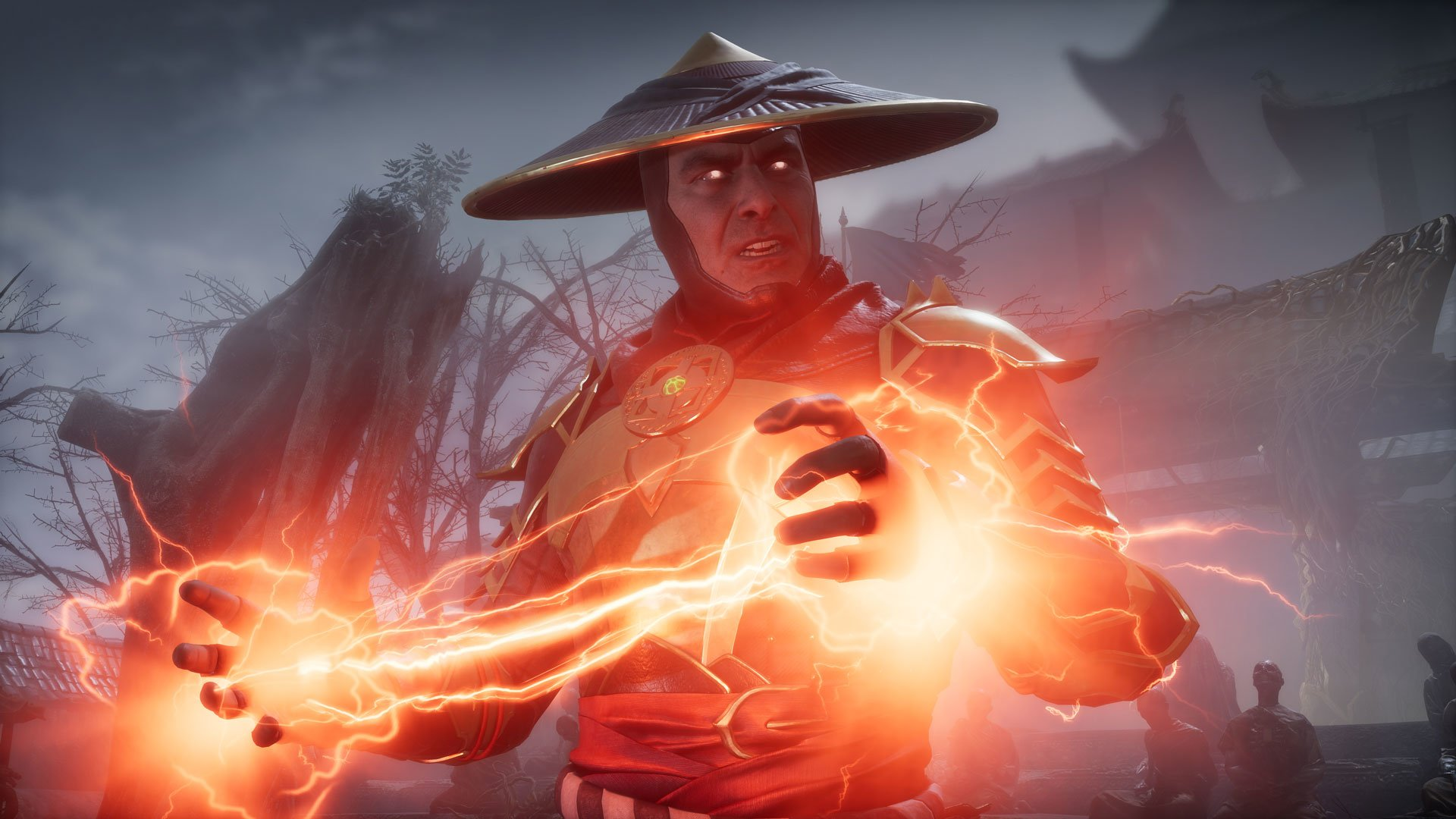 Image result for mortal kombat 11 raiden 1920x1080