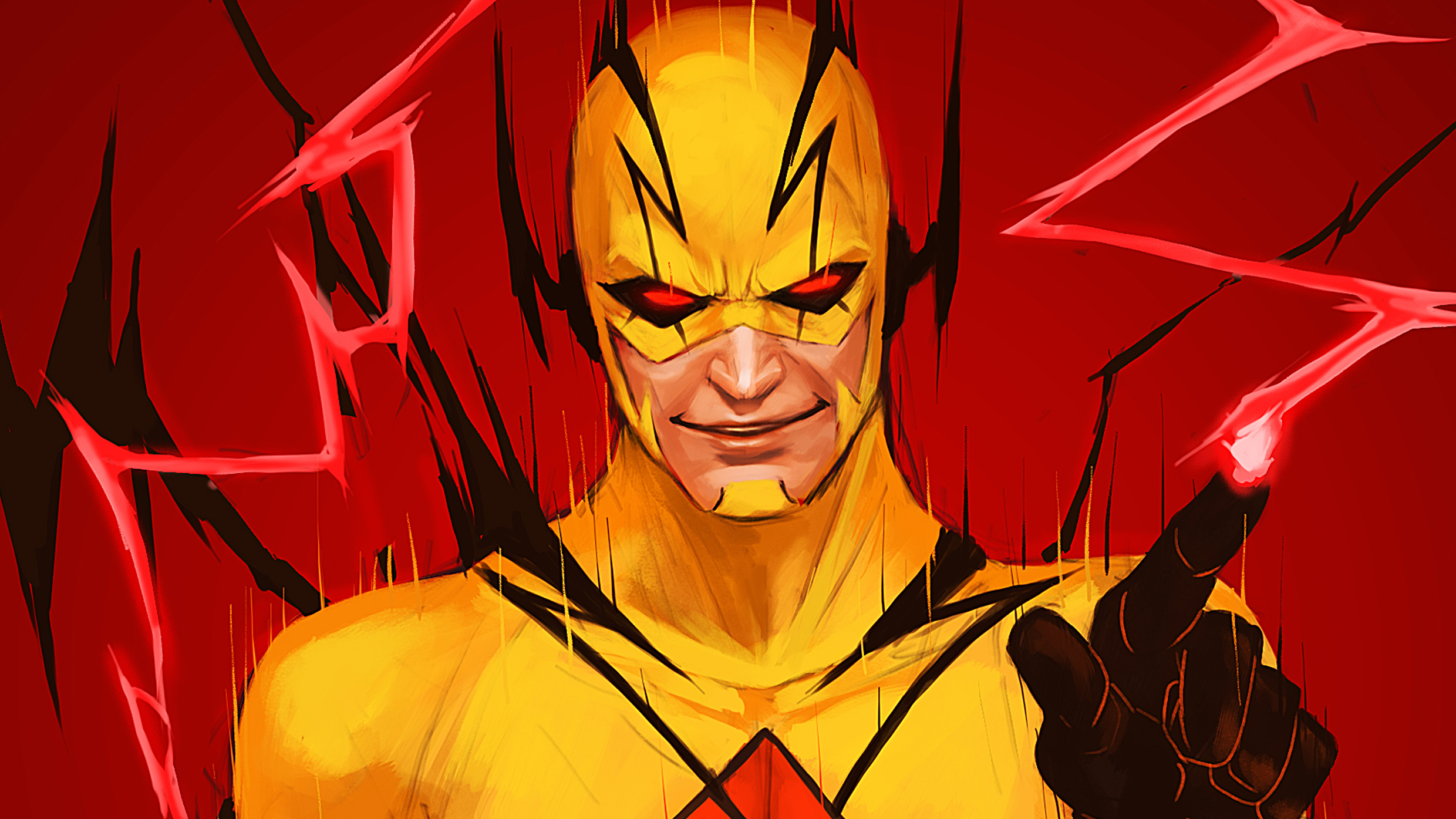 Reverse Flash Hd Wallpaper Background Image 2480x1395 Id