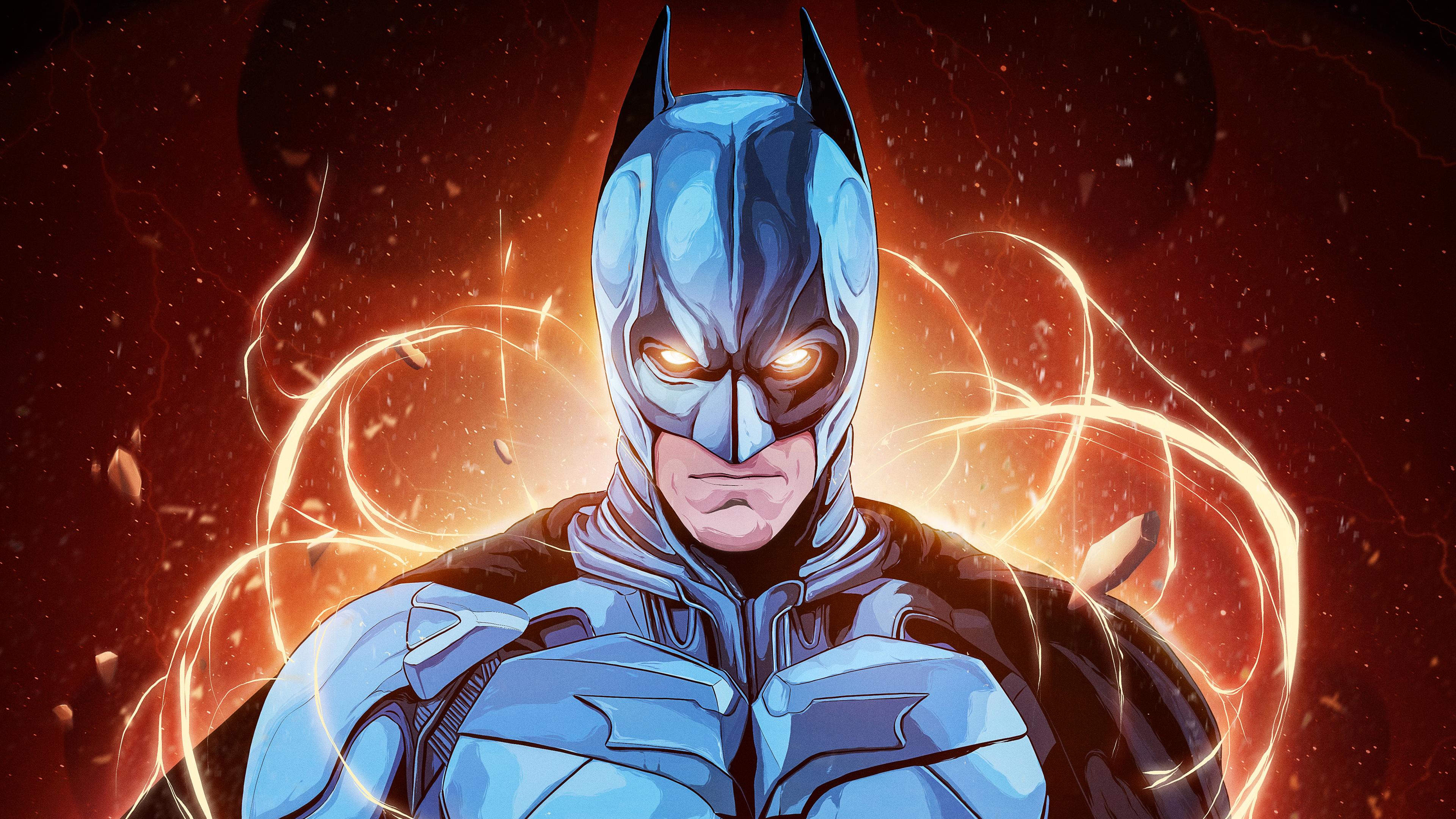 Batman Serious Look 4k Ultra Hd Wallpaper Background Image