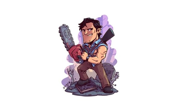 Comics Army Of Darkness Ash Williams HD Wallpaper | Background Image