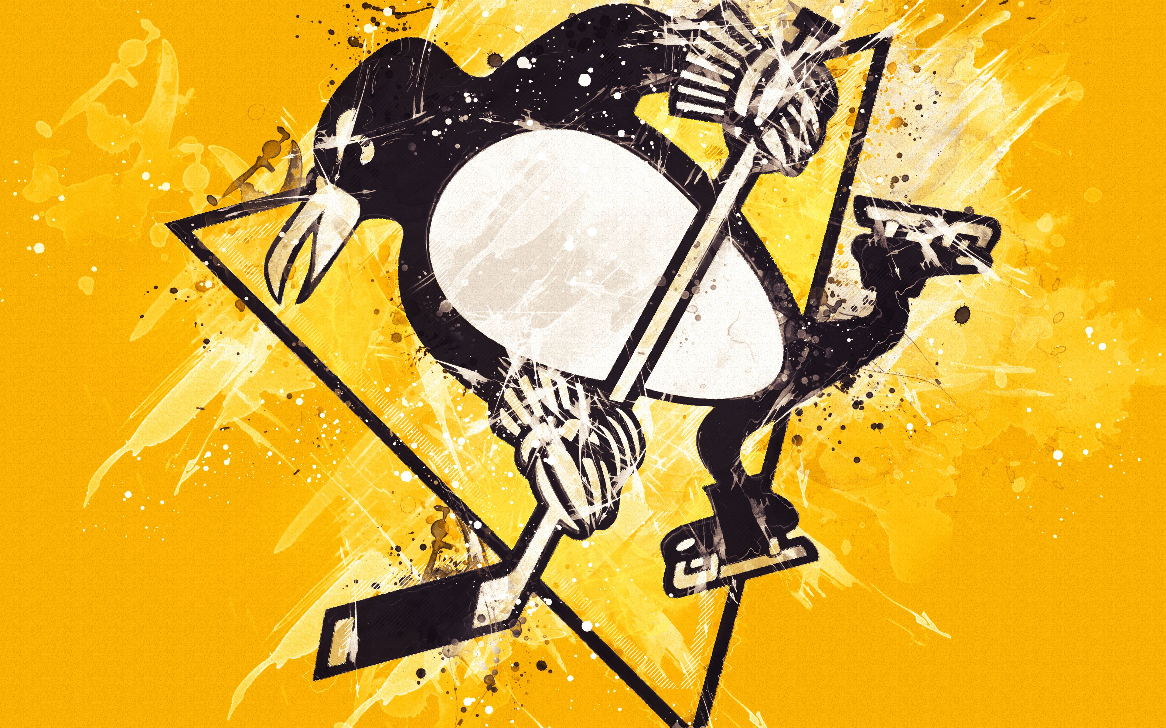 Pittsburgh Penguins 4k Ultra Hd Wallpaper Background Image