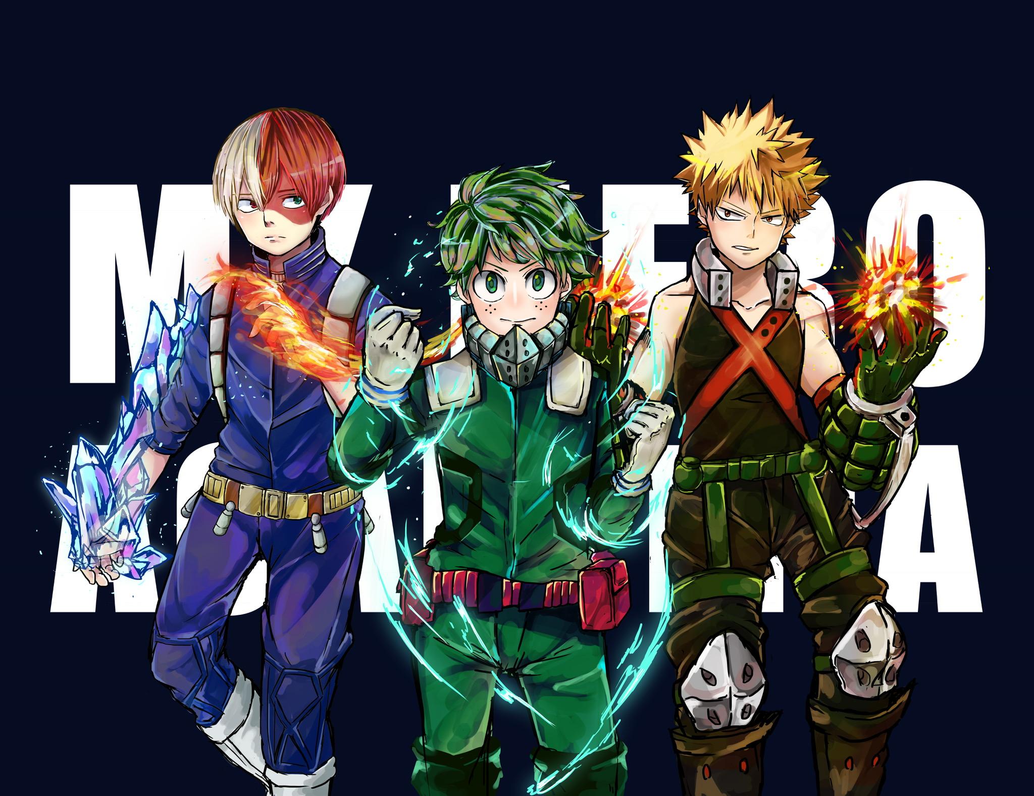 My Hero Academia Hd Wallpaper Background Image 2048x1577