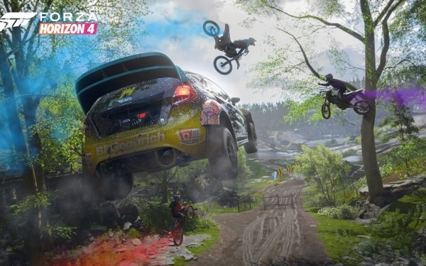 Vehicles Forza Horizon 4 Ford Fiesta HD Wallpaper   Background Image