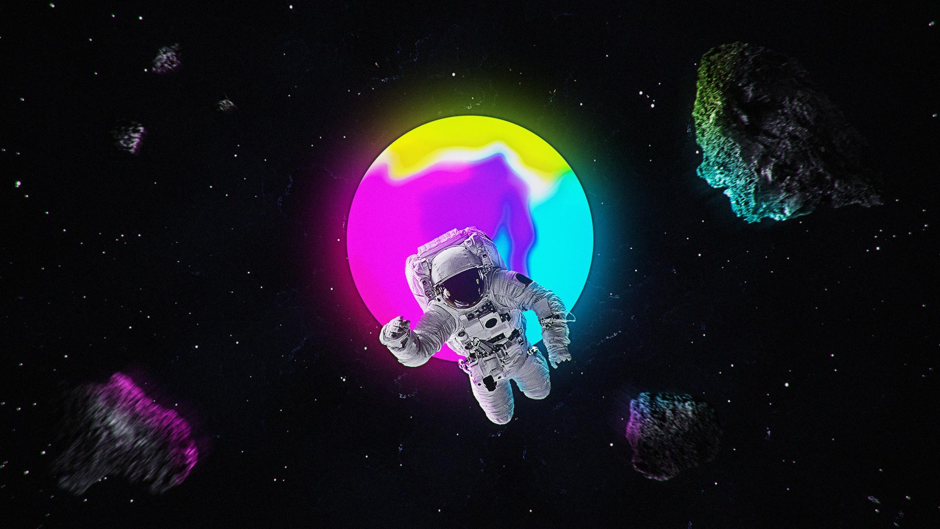 Обои астронавт, земля. Фантастика foto 4