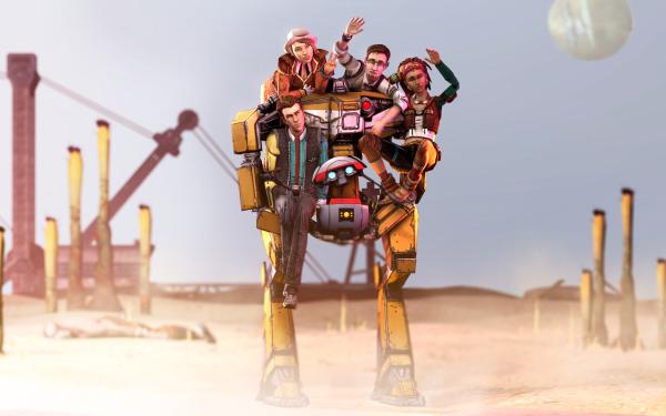 Video Game Tales From The Borderlands Borderlands Loaders HD Wallpaper   Background Image