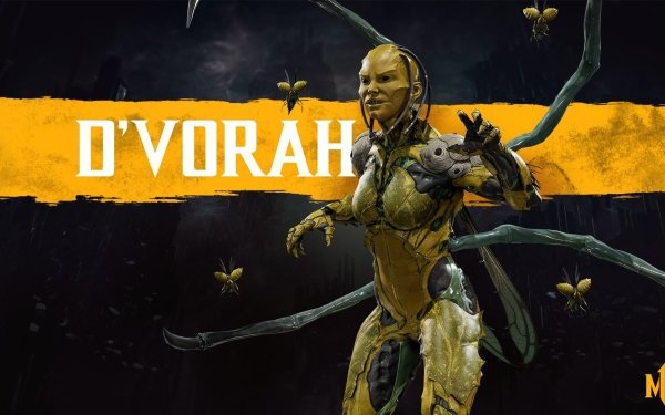 Video Game Mortal Kombat 11 D'Vorah HD Wallpaper | Background Image
