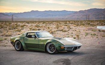 19 Chevrolet Corvette Stingray 高清壁纸 与僧侣...