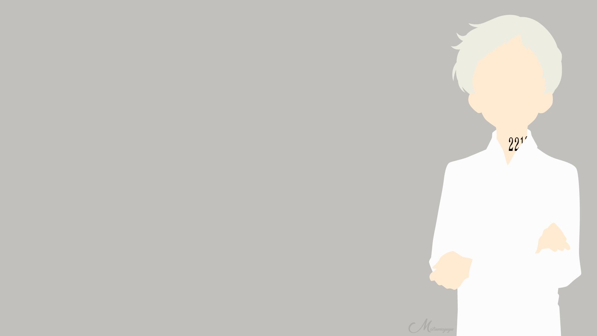 Norman From Yakusoku No Neverland Hd Wallpaper Background Image