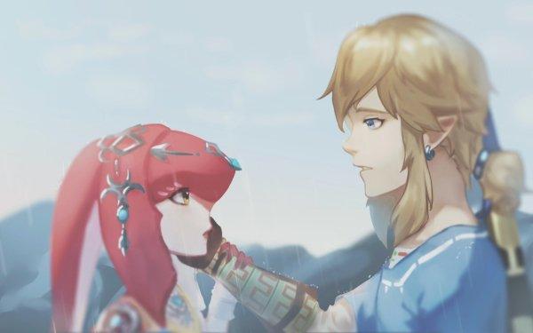 Video Game The Legend of Zelda: Breath of the Wild Zelda Mipha Link HD Wallpaper | Background Image