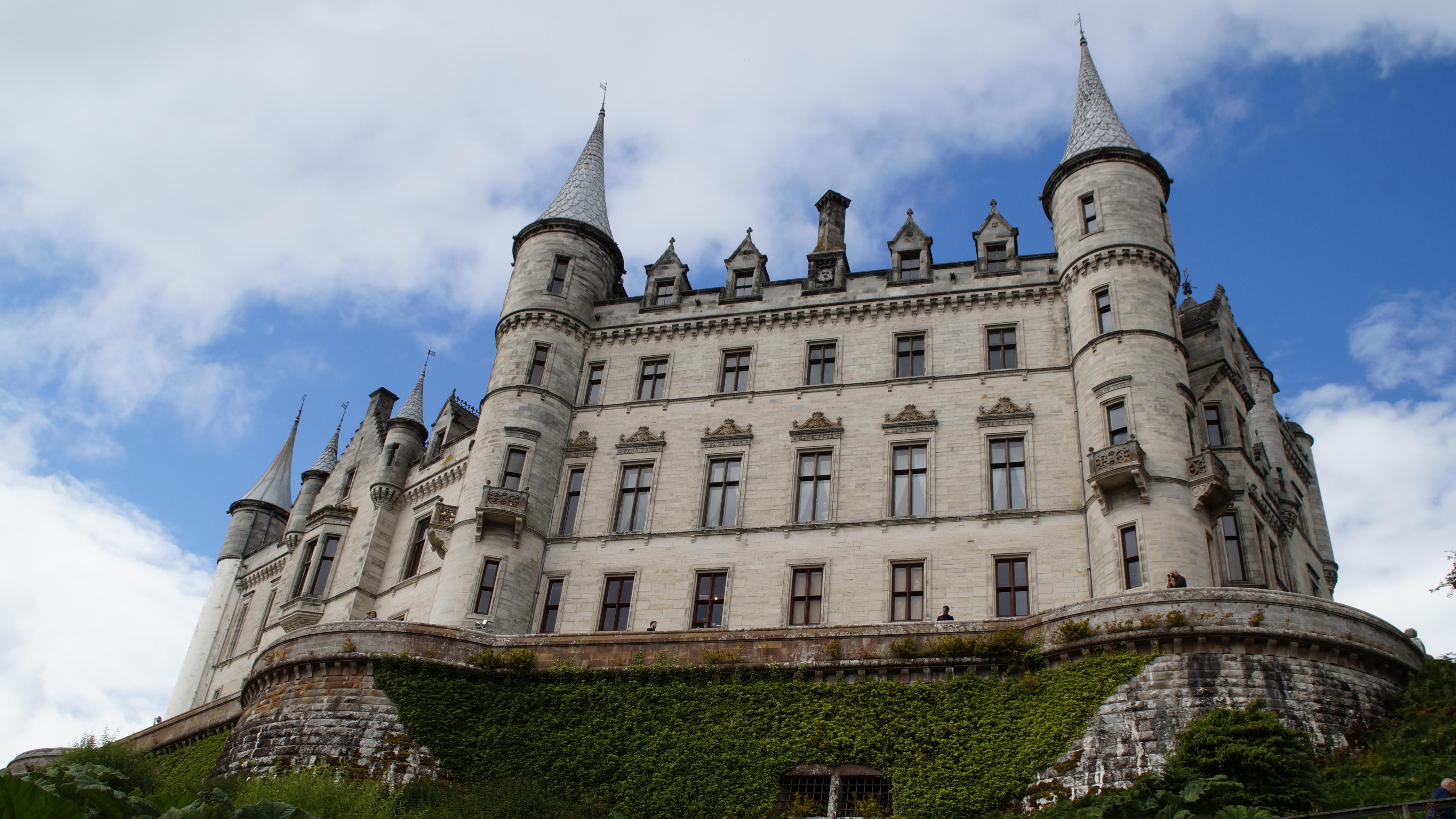 Обои scotland, Шотландия, sutherland, Dunrobin, замок. Города foto 10