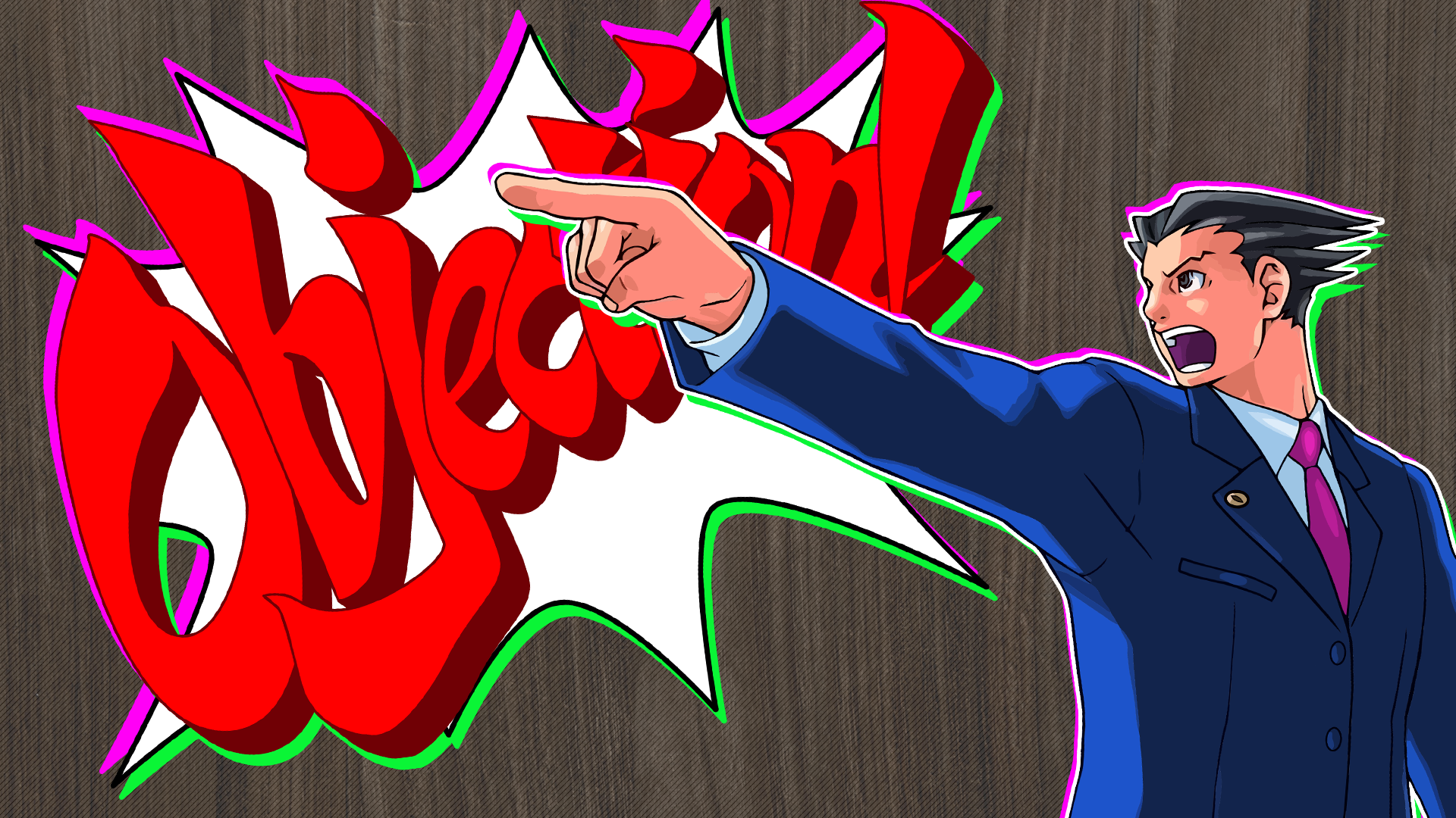 Phoenix Wright Ace Attorney Hd Wallpaper Background Image