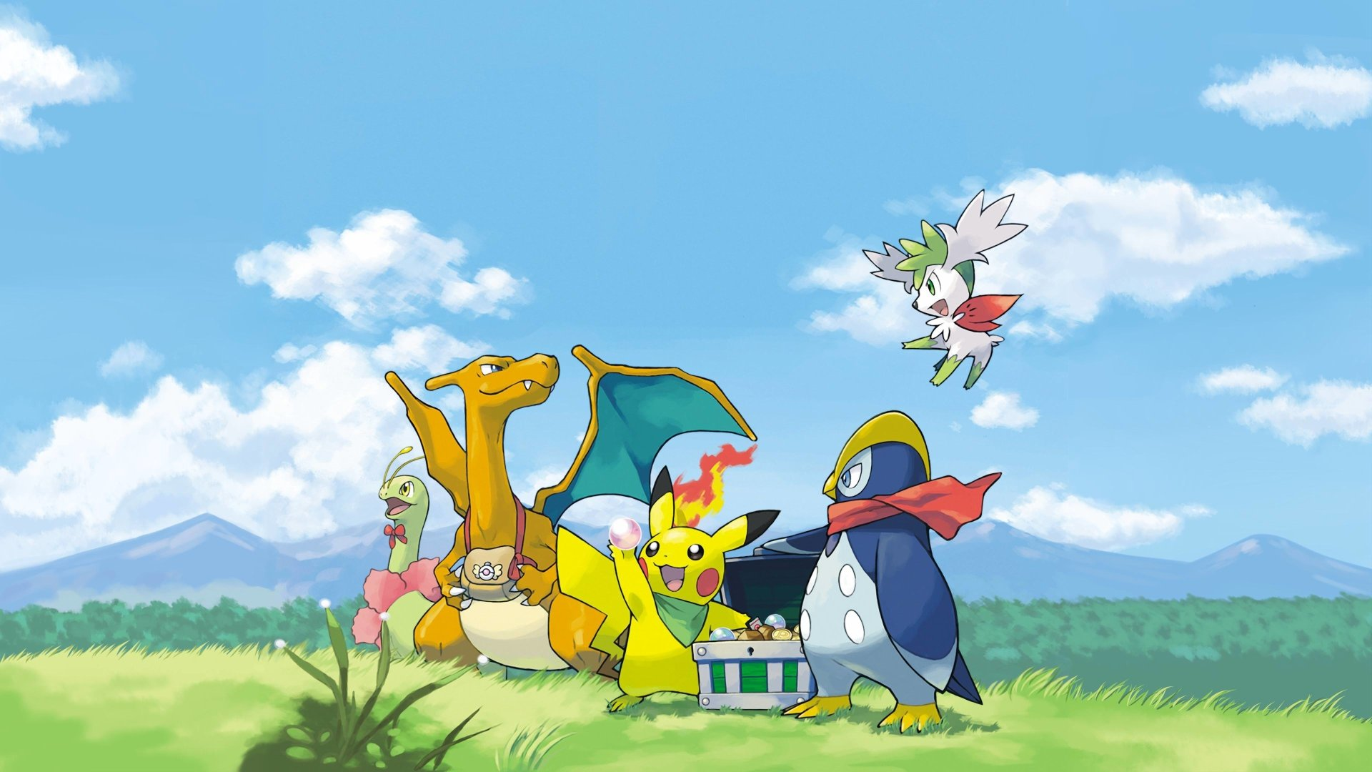 1 4k Ultra Hd Pokemon Mystery Dungeon Explorers Of Sky Wallpapers