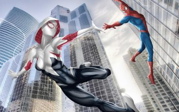 124 Spider Gwen Hd Wallpapers Background Images Wallpaper Abyss