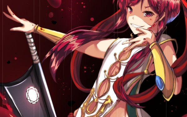 Anime Magi: The Labyrinth Of Magic Kouha Ren HD Wallpaper | Background Image