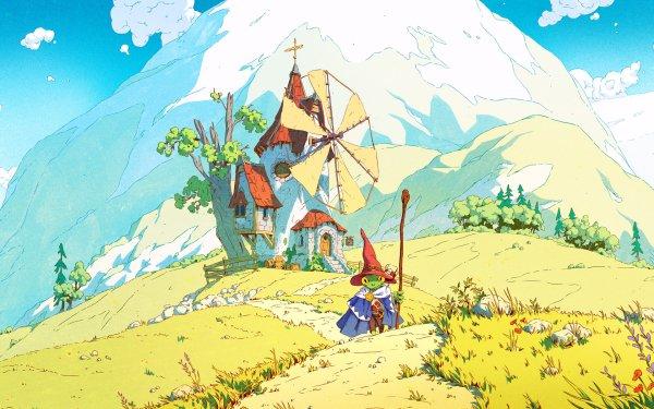 Fantasy Building Buildings HD Wallpaper   Background Image