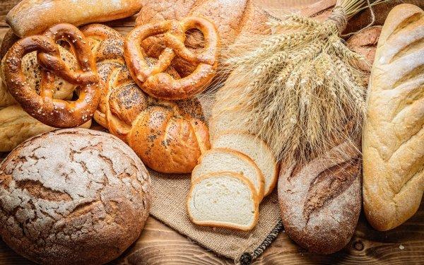 Food Bread Baking Still Life Pretzel HD Wallpaper | Background Image